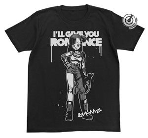龍珠 Buruma 圖案 T-Shirt - 黑色 (S 碼) 【DragonBall】 Renewal Buruma T-Shirt - Black (Size: S)