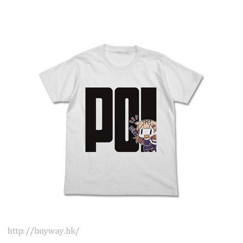 艦隊 Collection -艦Colle- (加大)「夕立」白色 T-Shirt Yudachi-ppoi T-Shirt / WHITE - XL【Kantai Collection -KanColle-】