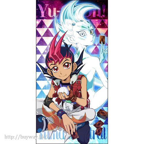 遊戲王 「阿斯特拉爾 + 九十九遊馬」120cm 大毛巾 120cm Big Towel Yuma & Astral Relax Ver.【Yu-Gi-Oh!】