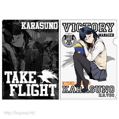 排球少年!! 「清水潔子」文件套 Clear File Kiyoko Shimizu【Haikyu!!】