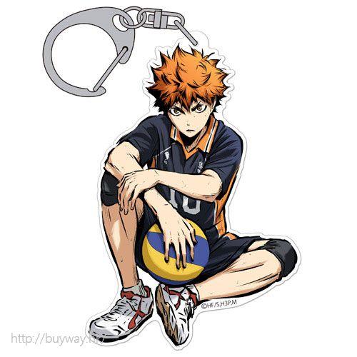 排球少年!! 「日向翔陽」匙扣 勝利への闘志 ver. Acrylic Keychain Shoyo Hinata Shouri e no Toushi Ver.【Haikyu!!】