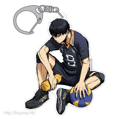 排球少年!! 「影山飛雄」匙扣 勝利への闘志 ver. Acrylic Keychain Tobio Kageyama Shouri e no Toushi Ver.【Haikyu!!】