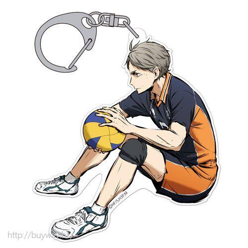 排球少年!! 「菅原孝支」匙扣 勝利への闘志 ver. Acrylic Keychain Koshi Sugawara Shouri e no Toushi Ver.【Haikyu!!】