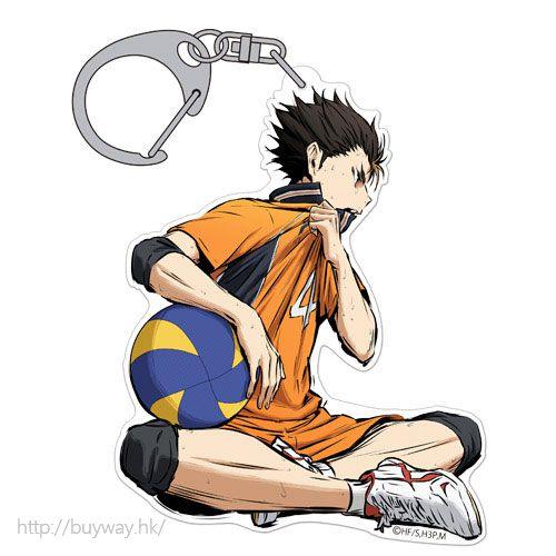 排球少年!! 「西谷夕」匙扣 勝利への闘志 ver. Acrylic Keychain Yu Nishinoya Shouri e no Toushi Ver.【Haikyu!!】