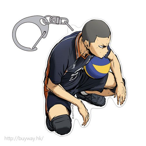 排球少年!! 「田中龍之介」匙扣 勝利への闘志 ver. Acrylic Keychain Ryunosuke Tanaka Shouri e no Toushi Ver.【Haikyu!!】