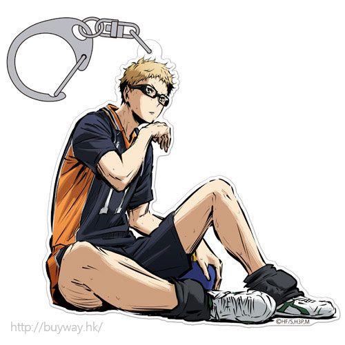 排球少年!! 「月島螢」匙扣 勝利への闘志 ver. Acrylic Keychain Kei Tsukishima Shouri e no Toushi Ver.【Haikyu!!】