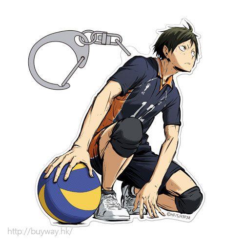 排球少年!! 「山口忠」匙扣 勝利への闘志 ver. Acrylic Keychain Tadashi Yamaguchi Shouri e no Toushi Ver.【Haikyu!!】