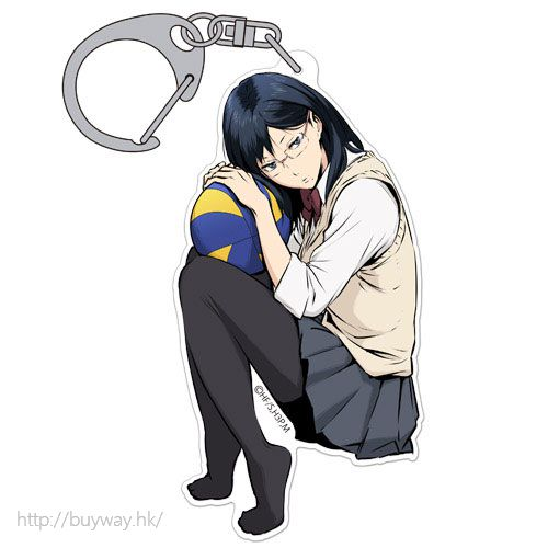排球少年!! 「清水潔子」匙扣 Acrylic Keychain Kiyoko Shimizu【Haikyu!!】
