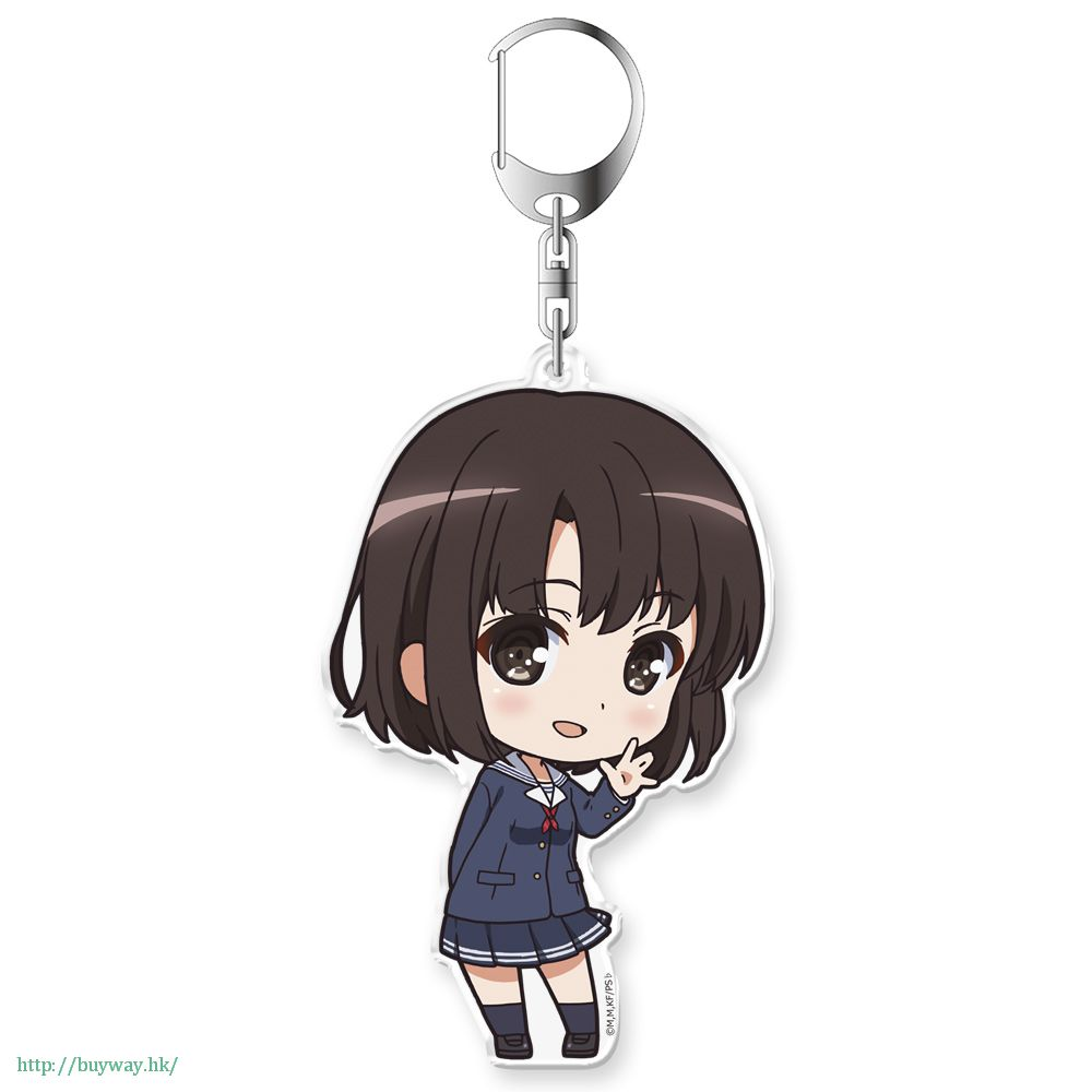 不起眼女主角培育法 「加藤惠」Petit Colle! 亞克力匙扣 Petit Colle! Acrylic Key Chain Kato Megumi【Saekano: How to Raise a Boring Girlfriend】