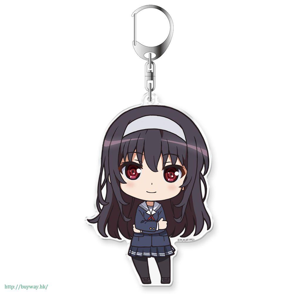 不起眼女主角培育法 「霞之丘詩羽 (霞詩子)」Petit Colle! 亞克力匙扣 Petit Colle! Acrylic Key Chain Kasumigaoka Utaha【Saekano: How to Raise a Boring Girlfriend】