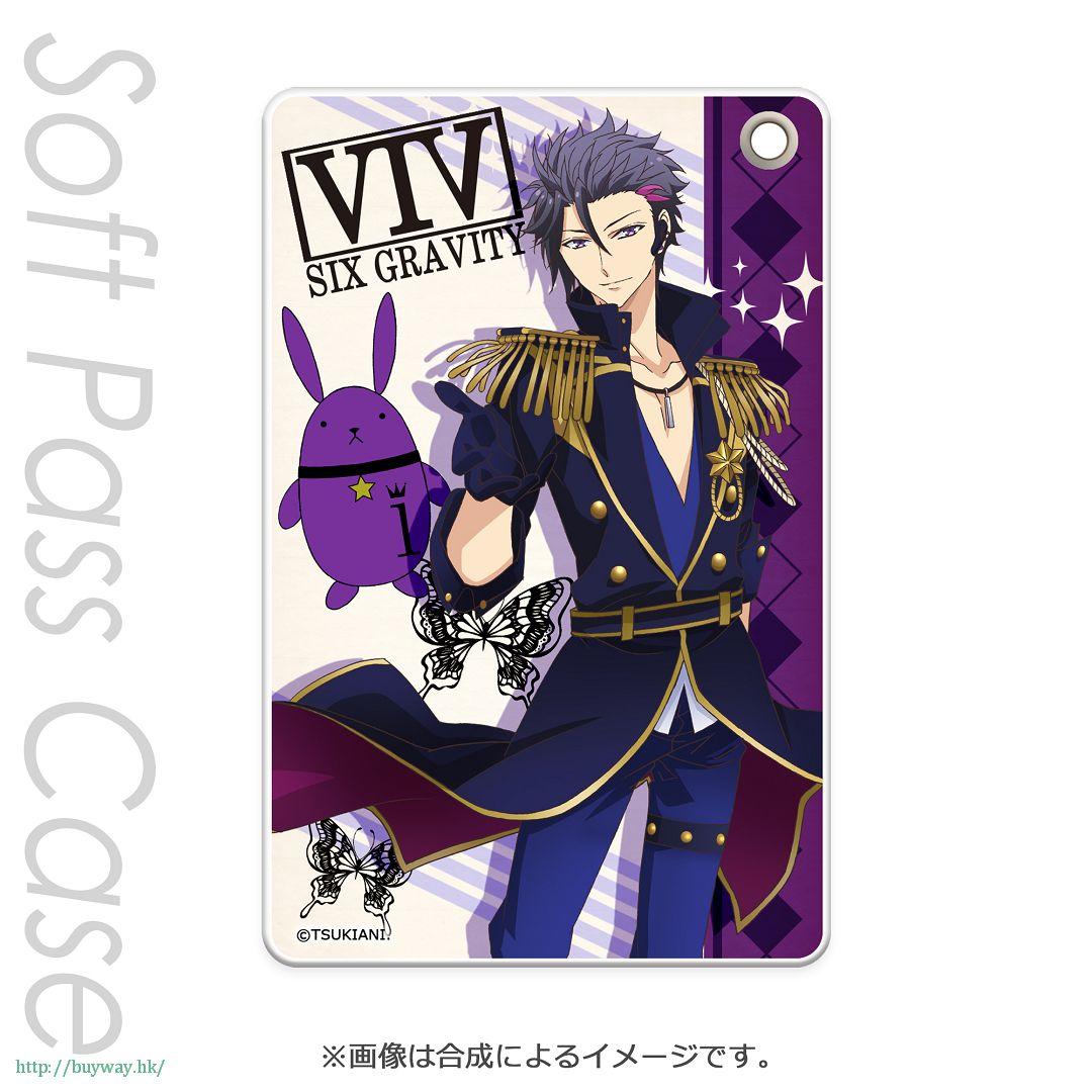 月歌。 「睦月始 (1月)」軟質證件套 PT Slim Soft Pass Case Mutsuki Hajime PT【Tsukiuta.】