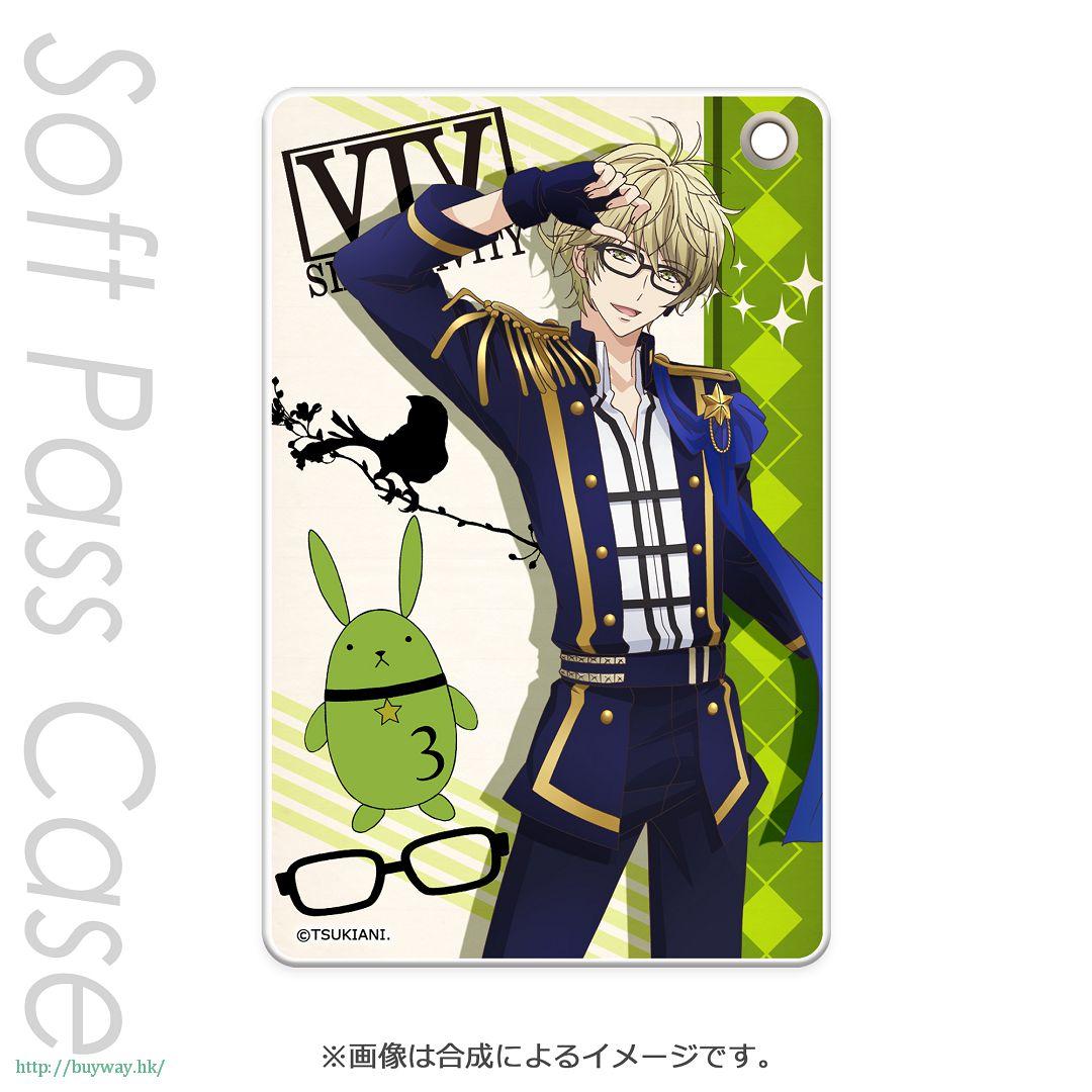月歌。 「彌生春 (3月)」軟質證件套 PT Slim Soft Pass Case Yayoi Haru PT【Tsukiuta.】