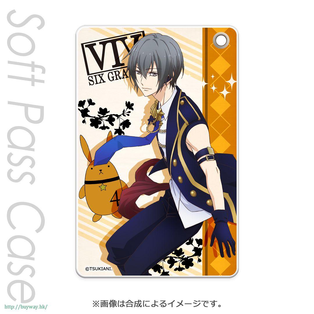 月歌。 「卯月新 (4月)」軟質證件套 PT Slim Soft Pass Case Uduki Arata PT【Tsukiuta.】