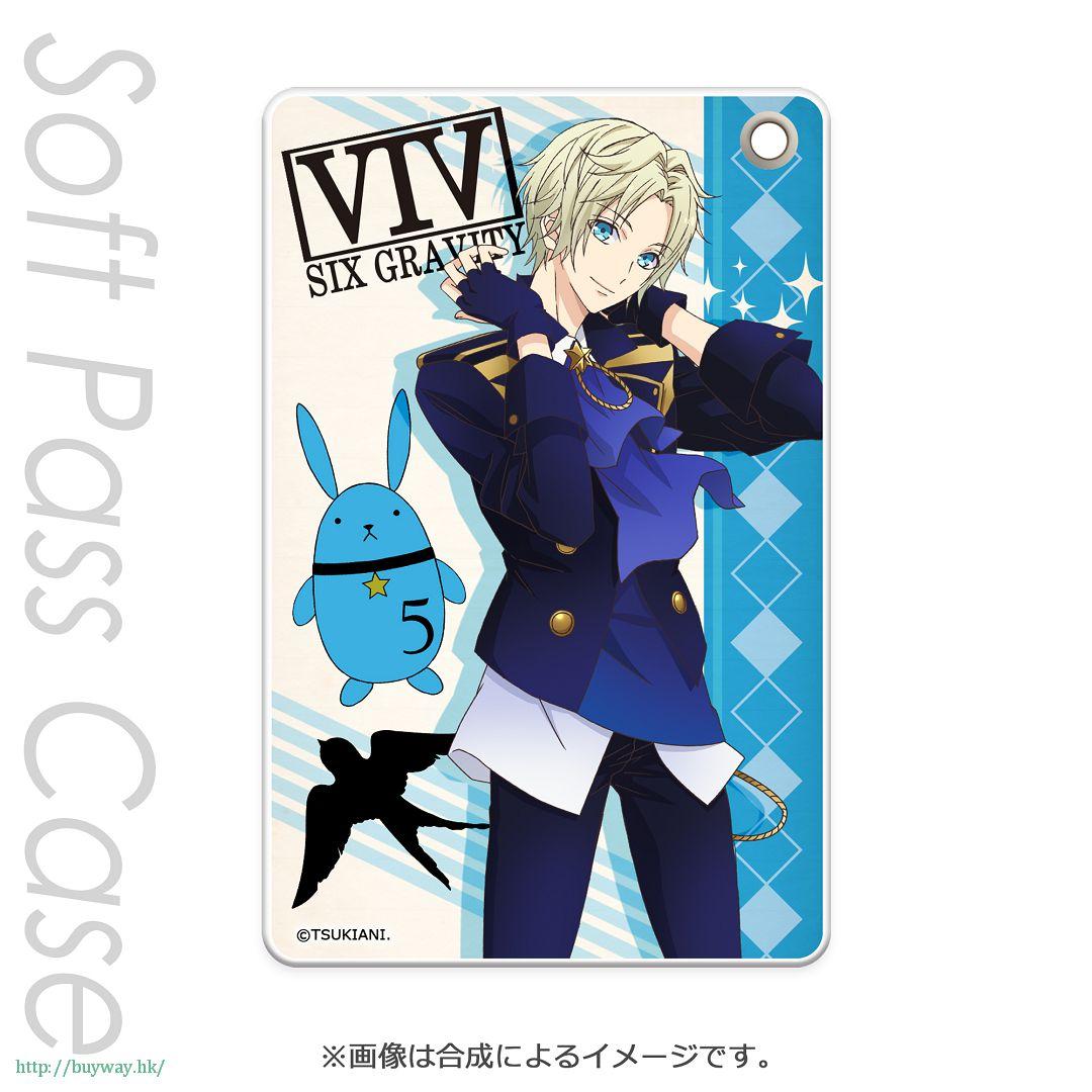 月歌。 「皐月葵 (5月)」軟質證件套 PT Slim Soft Pass Case Satsuki Aoi PT【Tsukiuta.】