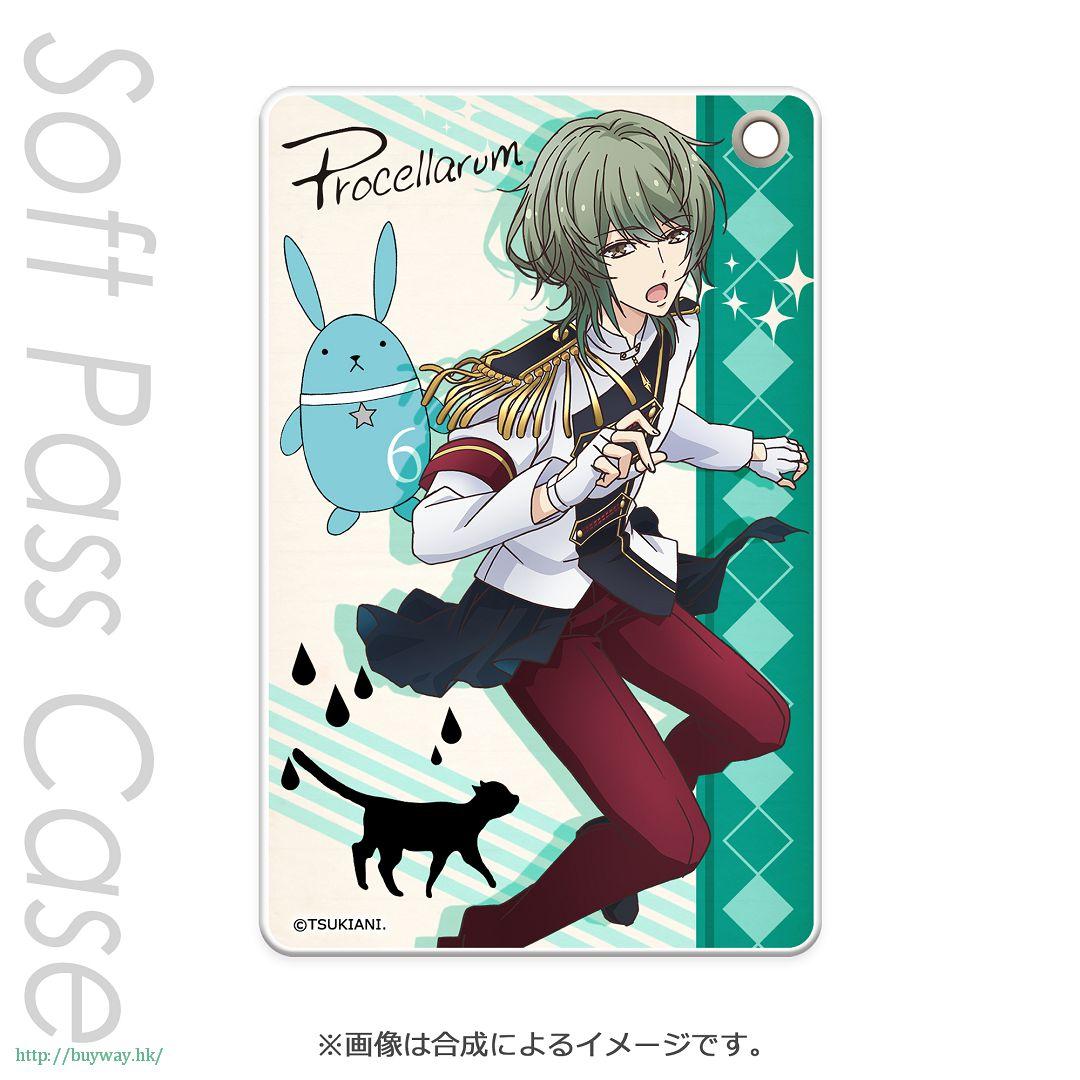 月歌。 「水無月淚 (6月)」軟質證件套 PT Slim Soft Pass Case Minaduki Rui PT【Tsukiuta.】