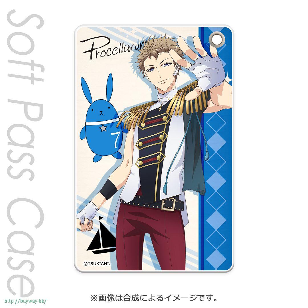 月歌。 「文月海 (7月)」軟質證件套 PT Slim Soft Pass Case Fuduki Kai PT【Tsukiuta.】