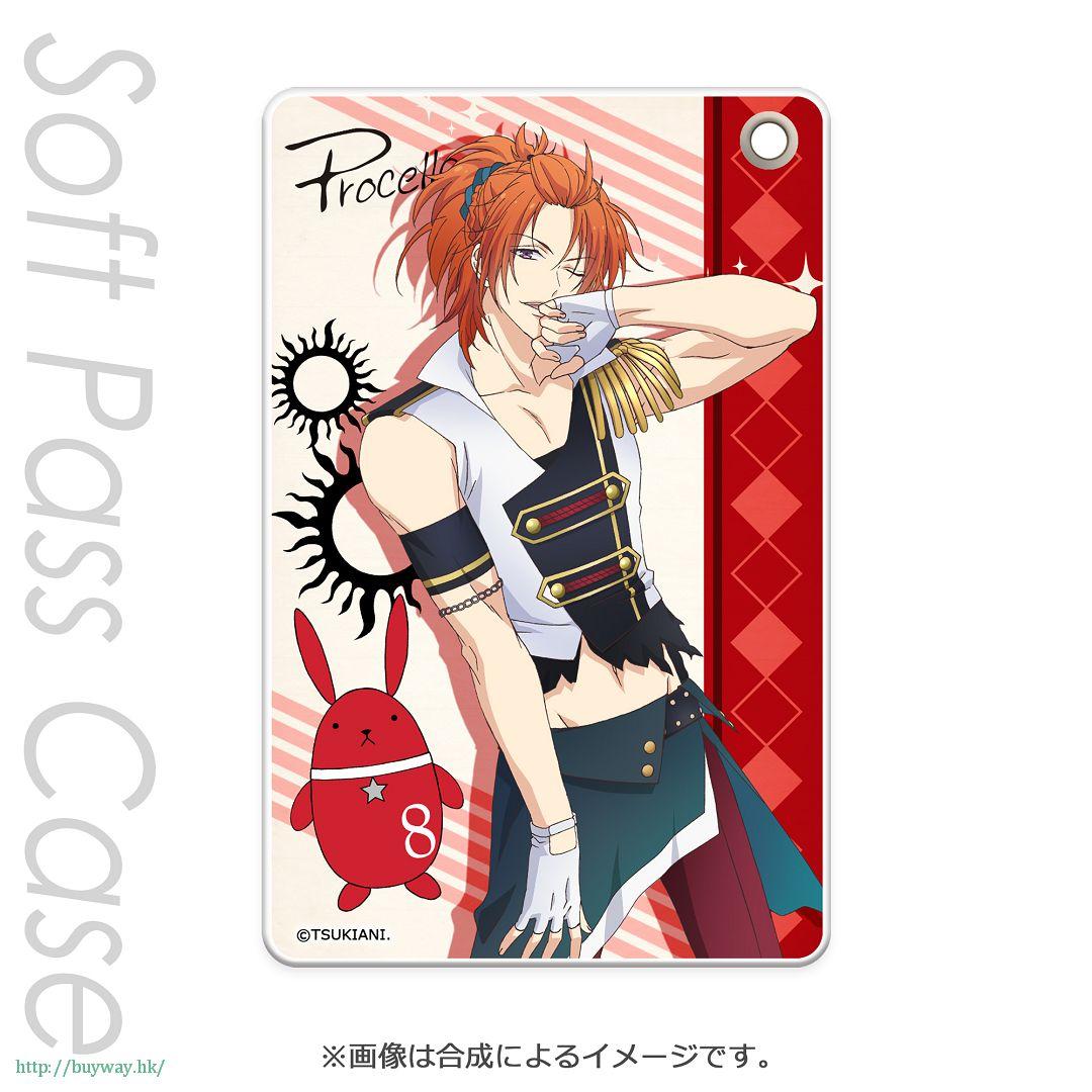 月歌。 「葉月陽 (8月)」軟質證件套 PT Slim Soft Pass Case Haduki You PT【Tsukiuta.】