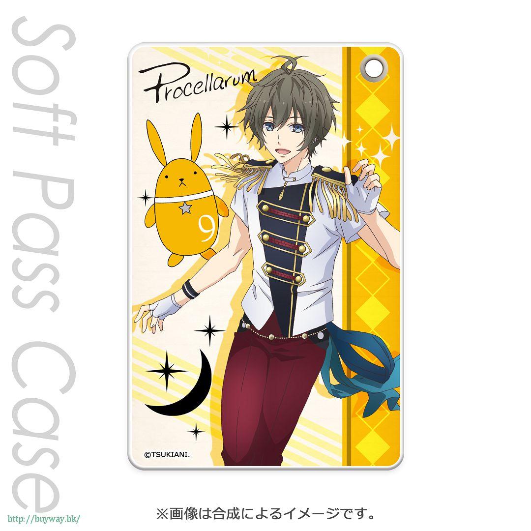 月歌。 「長月夜 (9月)」軟質證件套 PT Slim Soft Pass Case Nagatsuki Yoru PT【Tsukiuta.】