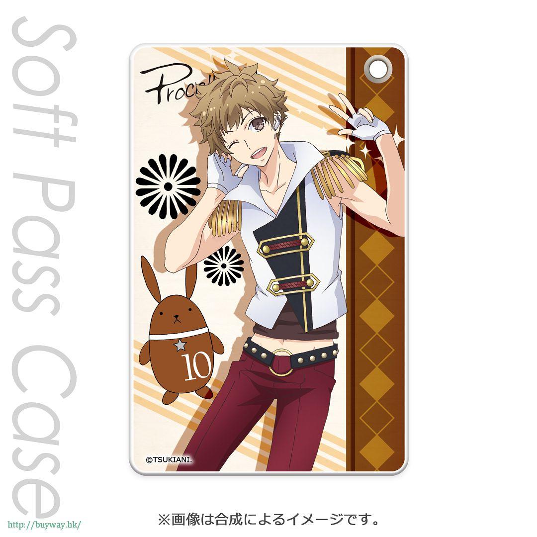 月歌。 「神無月郁 (10月)」軟質證件套 PT Slim Soft Pass Case Kannaduki Iku PT【Tsukiuta.】