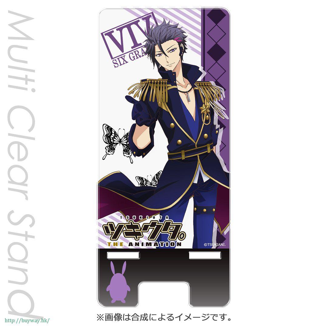 月歌。 「睦月始 (1月)」多功能站立架 PT Multi Clear Stand Mutsuki Hajime PT【Tsukiuta.】