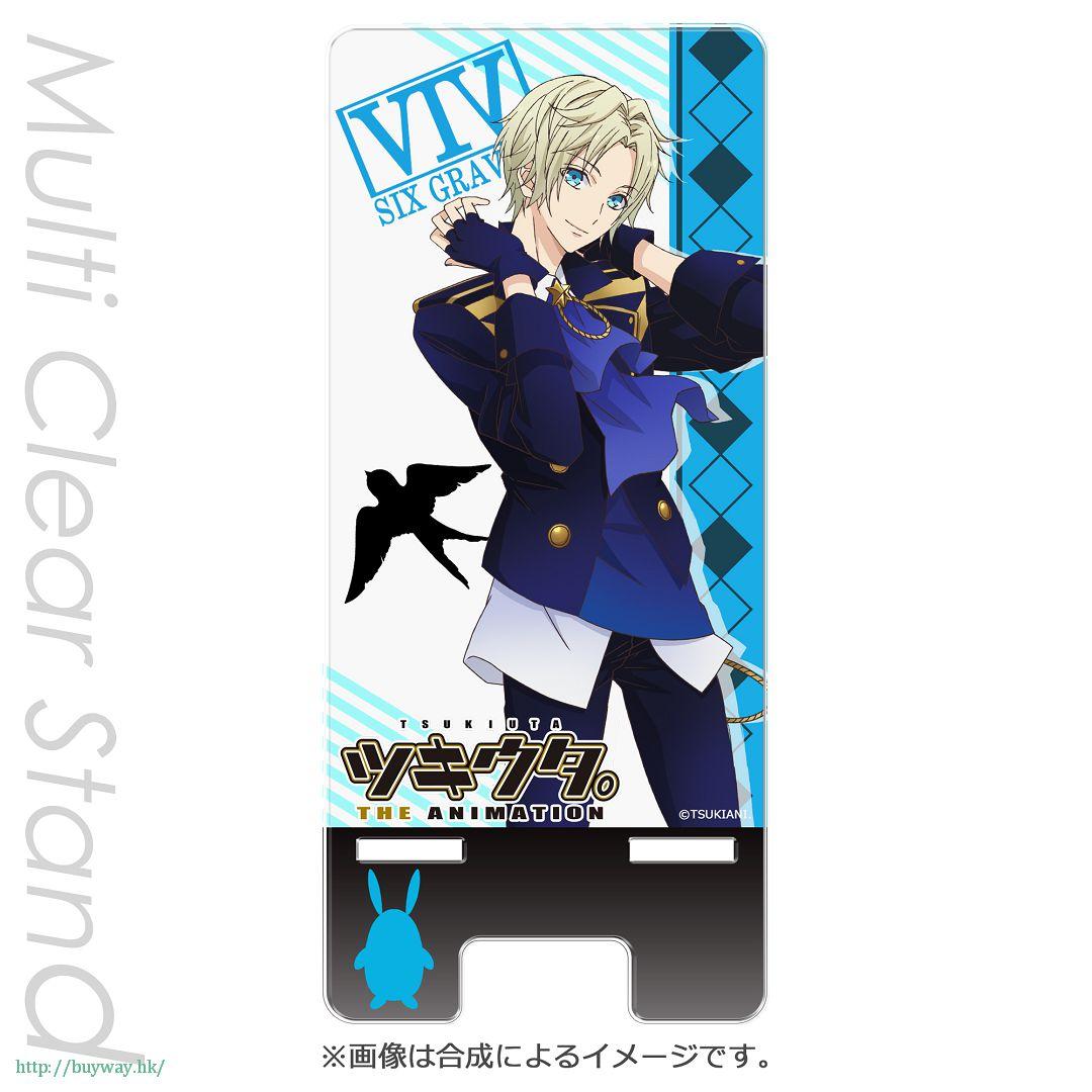 月歌。 「皐月葵 (5月)」多功能站立架 PT Multi Clear Stand Satsuki Aoi PT【Tsukiuta.】