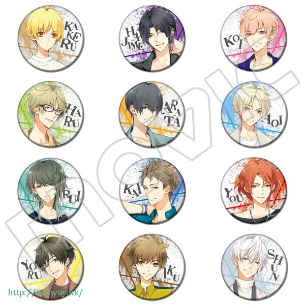 月歌。 收藏徽章 文化祭開催記念 Can Badge Collection【Tsukiuta.】
