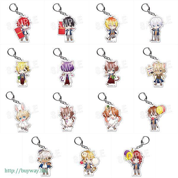 夢100 學祭 ver. 亞克力匙扣 (15 個入) Fortune Acrylic Key Chain School Festival Ver. (15 Pieces)【Yume 100】