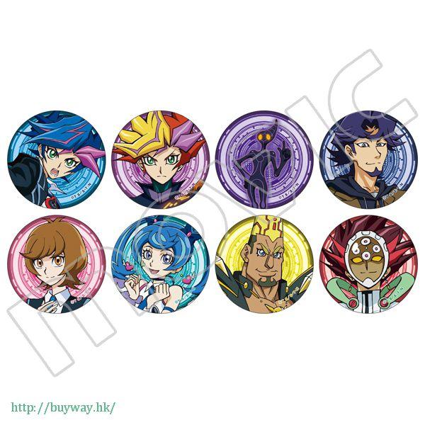 遊戲王 收藏徽章 (8 個入) Chara Badge Collection (8 Pieces)【Yu-Gi-Oh!】