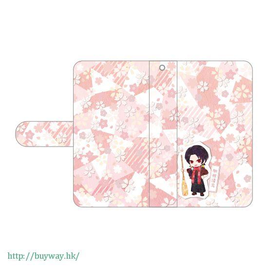刀劍亂舞-ONLINE- 「加州清光」iPhone 筆記本型手機套 Book Type iPhone Case Kashu Kiyomitsu【Touken Ranbu -ONLINE-】