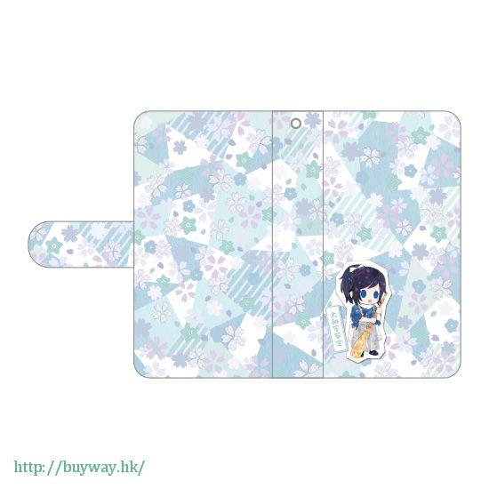 刀劍亂舞-ONLINE- 「大和守安定」iPhone 筆記本型手機套 Book Type iPhone Case Yamatonokami Yasusada【Touken Ranbu -ONLINE-】