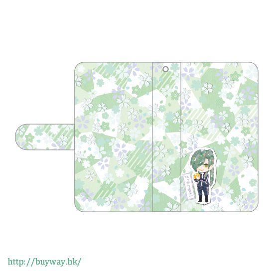 刀劍亂舞-ONLINE- 「笑面青江」iPhone 筆記本型手機套 Book Type iPhone Case Nikkari Aoe【Touken Ranbu -ONLINE-】