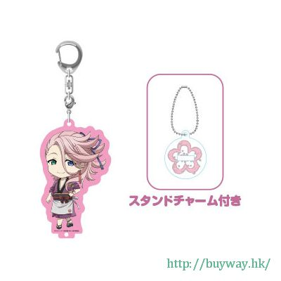 刀劍亂舞-ONLINE- 「宗三左文字」黏土人Plus 匙扣 Nendoroid Plus Acrylic Key Chain with Stand Souza Samonji【Touken Ranbu -ONLINE-】
