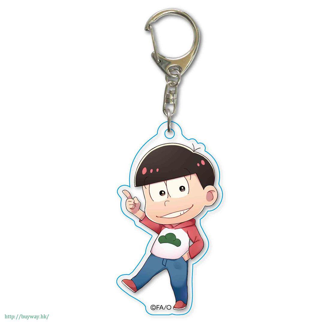 阿松 「松野小松」散步 亞克力匙扣 TEKUTOKO Acrylic Key Chain Osomatsu【Osomatsu-kun】