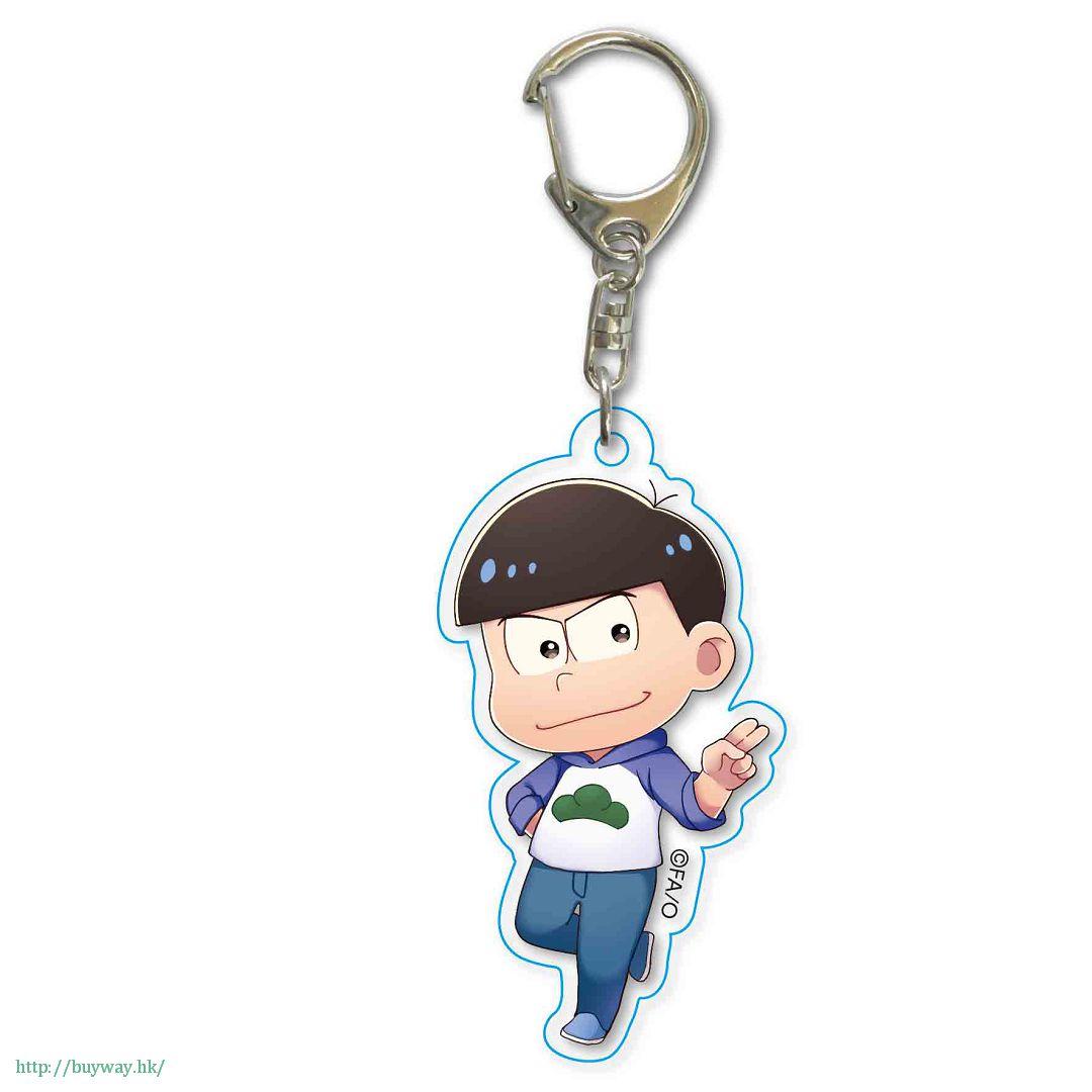 阿松 「松野唐松」散步 亞克力匙扣 TEKUTOKO Acrylic Key Chain Karamatsu【Osomatsu-kun】