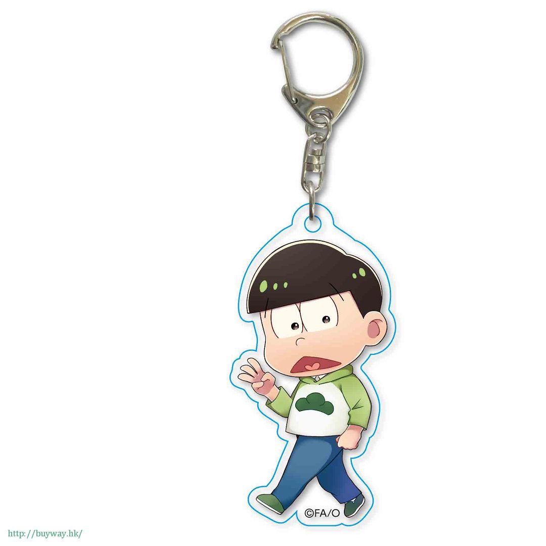 阿松 「松野輕松」散步 亞克力匙扣 TEKUTOKO Acrylic Key Chain Choromatsu【Osomatsu-kun】