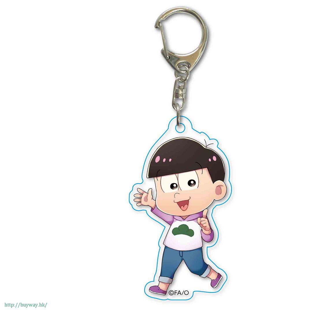 阿松 「松野椴松」散步 亞克力匙扣 TEKUTOKO Acrylic Key Chain Todomatsu【Osomatsu-kun】