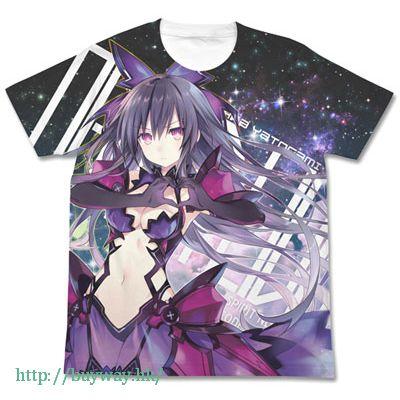 約會大作戰 (加大)「夜刀神十香」白色 全彩 T-Shirt [Inverted] Tohka Yatogami Full Graphic T-Shirt / WHITE-XL【Date A Live】