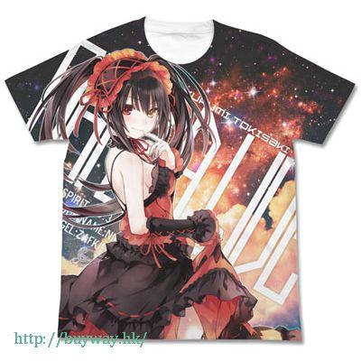 約會大作戰 (細碼)「時崎狂三」白色 全彩 T-Shirt Kurumi Tokisaki Full Graphic T-Shirt Ver.2 / WHITE-S【Date A Live】
