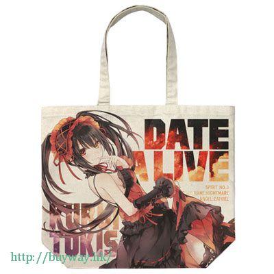 約會大作戰 「時崎狂三」米白 袋子 Kurumi Tokisaki Full Graphic Large Tote Bag Ver.2 / NATURAL【Date A Live】
