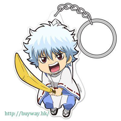 銀魂 「坂田銀時」陰陽師 ver. 亞克力 吊起匙扣 Acrylic Pinched Keychain: Gin-san Onmyouji Ver.【Gin Tama】