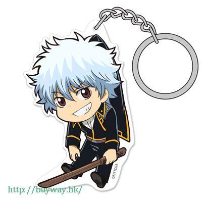 銀魂 「坂田銀時」真選組隊服 ver. 亞克力 吊起匙扣 Acrylic Pinched Keychain: Gin-san Shinsengumi Uniform Ver.【Gin Tama】