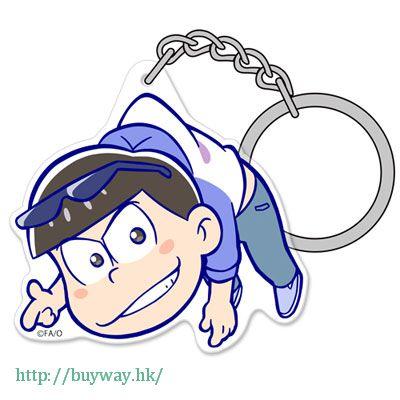 阿松 「松野唐松」亞克力 吊起匙扣 Acrylic Pinched Keychain: Karamatsu【Osomatsu-kun】