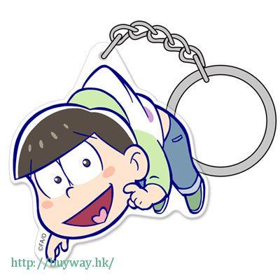阿松 「松野輕松」亞克力 吊起匙扣 Acrylic Pinched Keychain: Choromatsu【Osomatsu-kun】