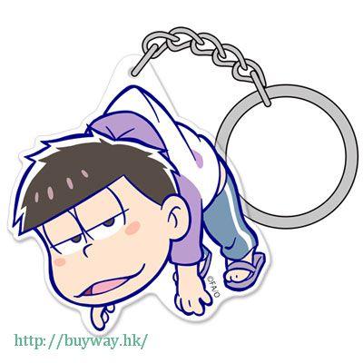 阿松 「松野一松」亞克力 吊起匙扣 Acrylic Pinched Keychain: Ichimatsu【Osomatsu-kun】