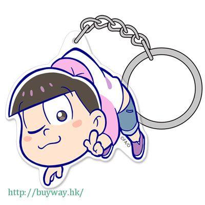 阿松 「松野椴松」亞克力 吊起匙扣 Acrylic Pinched Keychain: Todomatsu【Osomatsu-kun】