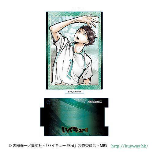 排球少年!! 「及川徹」激鬥! 亞克力企牌 Gekitou!! Standing Acrylic Key Chain Oikawa Toru【Haikyu!!】