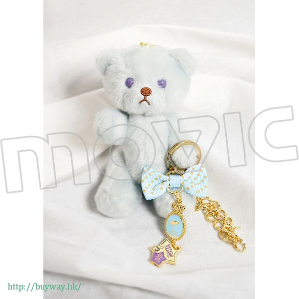 合奏明星 「日日樹涉」生日熊 + 掛飾 (2 月) Birthday Bear Charm Set Hibiki Wataru【Ensemble Stars!】