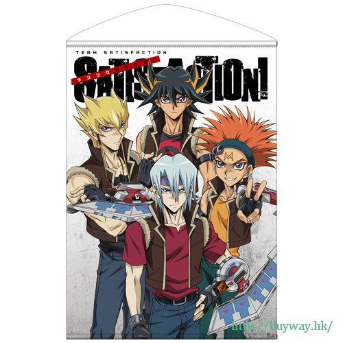 遊戲王 「チームサティスファクション」B2 掛布 B2 Wall Scroll: Team Satisfaction no Manzoku Shiyou ze!【Yu-Gi-Oh!】