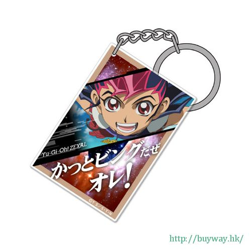 遊戲王 「九十九遊馬」咭片形亞克力匙扣 Card-shaped Acrylic Keychain: Yuma Tsukumo【Yu-Gi-Oh!】