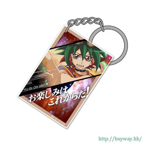 遊戲王 「榊遊矢」咭片形亞克力匙扣 Card-shaped Acrylic Keychain: Yuya Sakaki【Yu-Gi-Oh!】